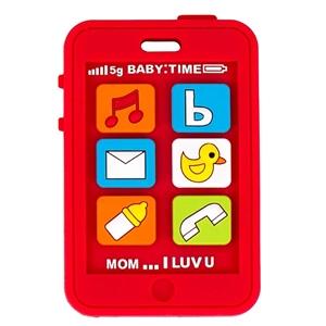 Silli Chews™ Μασητικό Σιλικόνης Red Phone