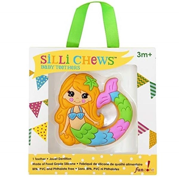 Silli Chews™ Μασητικό Σιλικόνης Mermaid