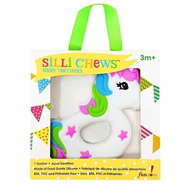 Silli Chews™ Μασητικό Σιλικόνης Unicorn