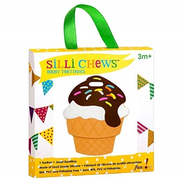 Silli Chews™ Μασητικό Σιλικόνης Ice Cream