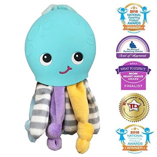 Silli Chews™ Μασητικό Σιλικόνης Ollie Octopus