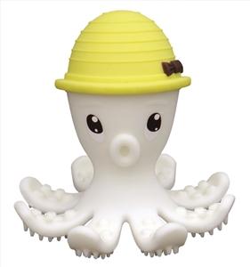 Baby To Love 3D Μασητικό Σιλικόνης Yellow Octopus