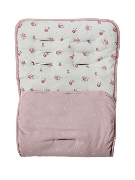 Minene Κάλυμμα Καροτσιού Cream Pink Floral