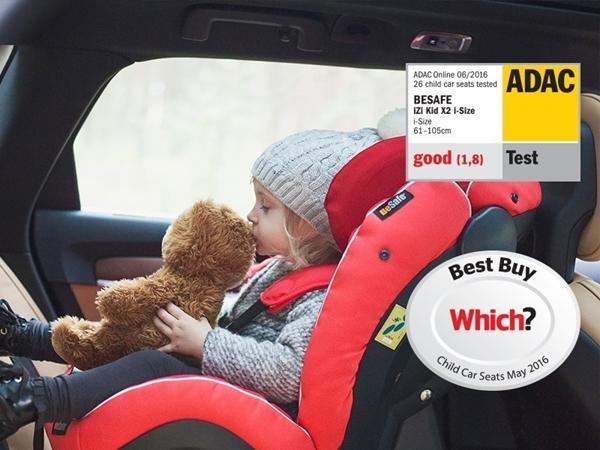 BeSafe iZi Kid X2 i-Size Παιδικό Κάθισμα Αυτοκινήτου Metallic Melange