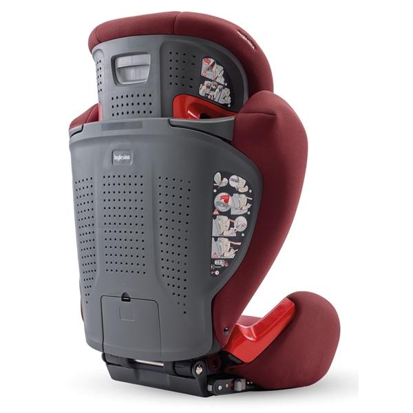 Inglesina Παιδικό Κάθισμα Αυτοκινήτου Galileo I-fix 15-36kg. Grey