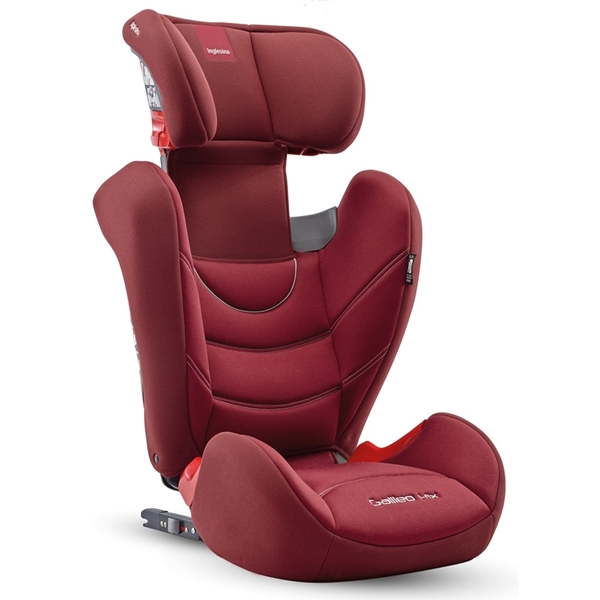 Inglesina Παιδικό Κάθισμα Αυτοκινήτου Galileo I-Fix 15-36kg. Red