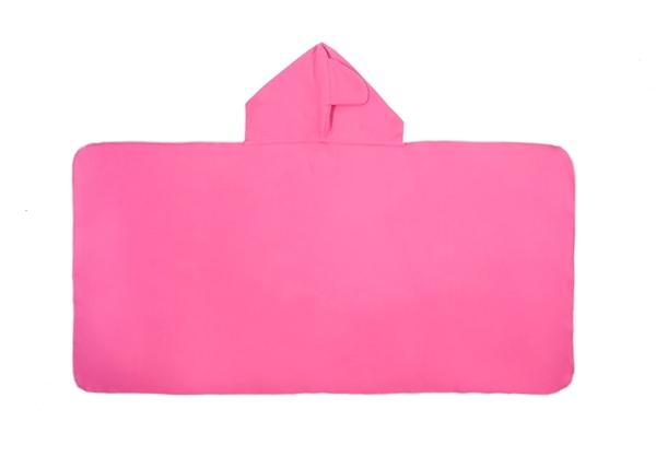 Little Champions Πόντσο / Πετσέτα Microfiber, Pink Shark Maxi 3-6 Ετών