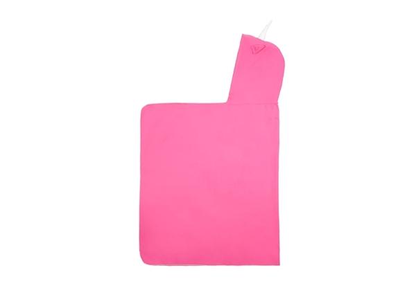 Little Champions Πόντσο / Πετσέτα Microfiber, Pink Unicorn Maxi 3-6 Ετών