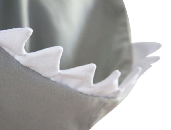 Little Champions Πόντσο / Πετσέτα Microfiber, Grey Shark
