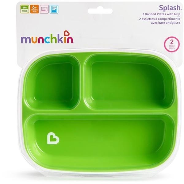 Munchkin Μικροί Δίσκοι Splash Σιέλ-Λαχανί