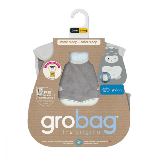 Grobag Υπνόσακος 1.0 tog 18-36 μηνών Ollie The Owl
