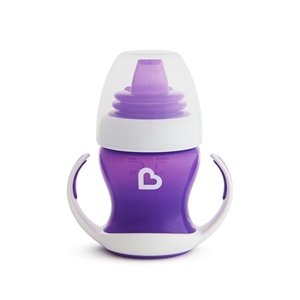 Munchkin Εκπαιδευτικό ποτηράκι - Gentle First Cup Purple 118ml.