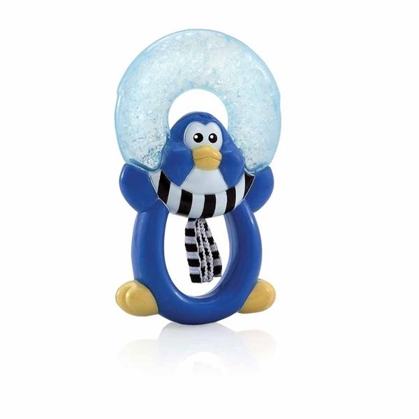 Nuby Μασητικά με Ice-Gel 3M+, Penguin
