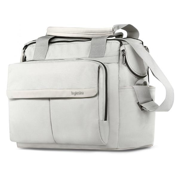Inglesina Τσάντα Αλλαγής Aptica Dual Bag, Iceberg Grey