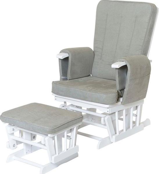 Πολυθρόνα Θηλασμού Λευκή - Γκρι