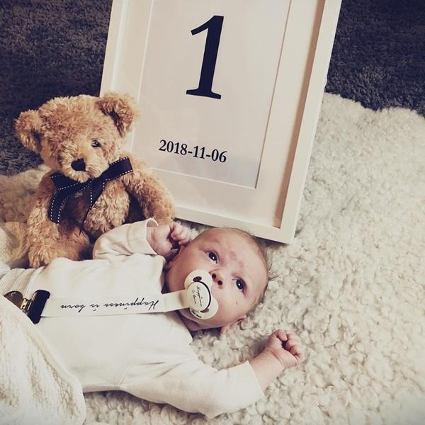 Elodie Details Αλυσίδα Πιπίλας Happiness Is Born