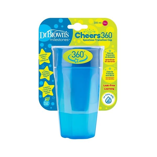 Dr. Browns Κύπελλο Cheers 360° Σιέλ 300ml