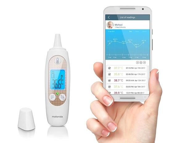 Motorola Ψηφιακό Θερμόμετρο Αυτιού MBP69SN