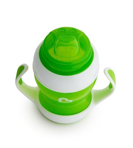 Munchkin Εκπαιδευτικό ποτηράκι - Gentle First Cup Green 118ml.