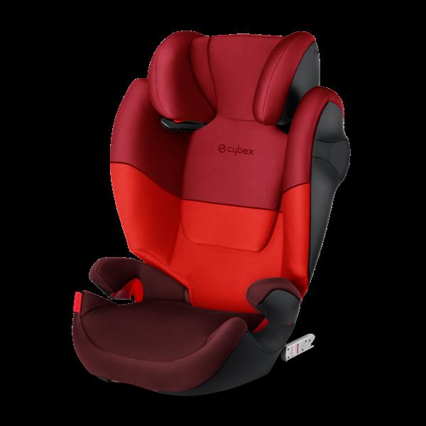 Cybex Παιδικό Κάθισμα Solution M-Fix, 15-36 kg. Rumba Red