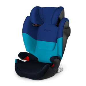 Cybex Παιδικό Κάθισμα Solution M-Fix, 15-36 kg. Blue Moon