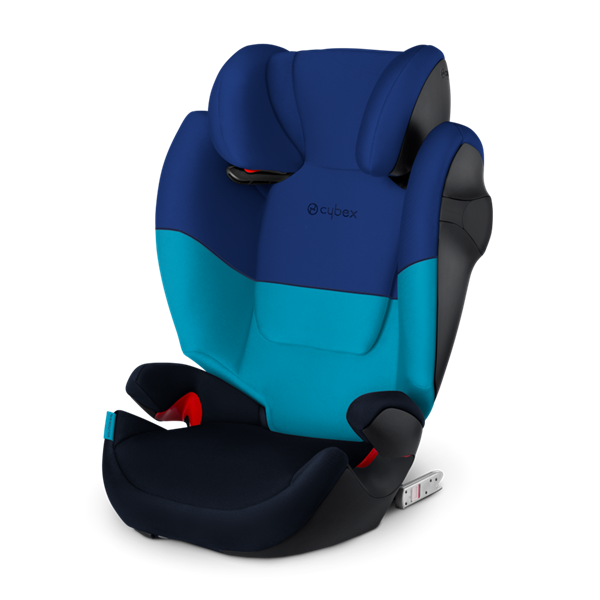Cybex Παιδικό Κάθισμα Solution M-Fix, 15-36 kg. Blue Moon