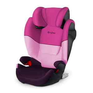 Cybex Παιδικό Κάθισμα Solution M-Fix, 15-36 kg. Purple Rain