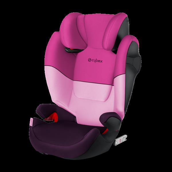 Cybex Παιδικό Κάθισμα Solution M-Fix, 15-36 kg. Purple Rain