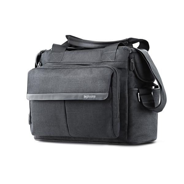 Inglesina Τσάντα Αλλαγής Aptica Dual Bag, Mystic Black