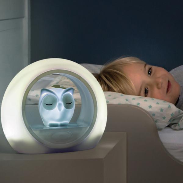 Zazu Lou Κουκουβάγια Παιδικό Φώς Νυκτός με Ηχητικό Αισθητήρα