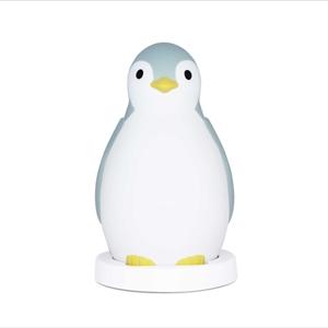Zazu Pam Ξυπνητήρι Εκμάθησης, Έξυπνο Ασύρματο Ηχείο, Φώς Νυκτός Blue Penguin