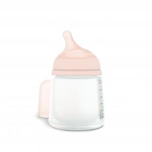 Suavinex Zero Zero Πλαστικό Αντι-Κολικό Μπουκάλι 180ml. (Αργής Ροής)