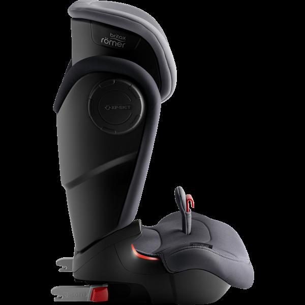 Britax Κάθισμα Αυτοκινήτου KidFix III M Premium Line 15-36kg, Storm Grey