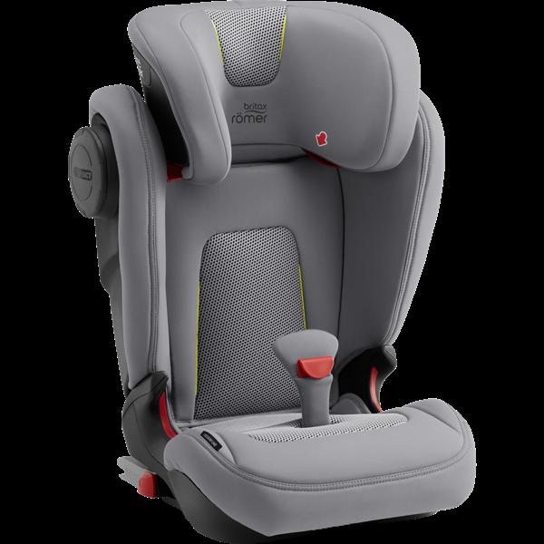 Britax Κάθισμα Αυτοκινήτου KidFix III M Premium Line 15-36kg, Air Silver