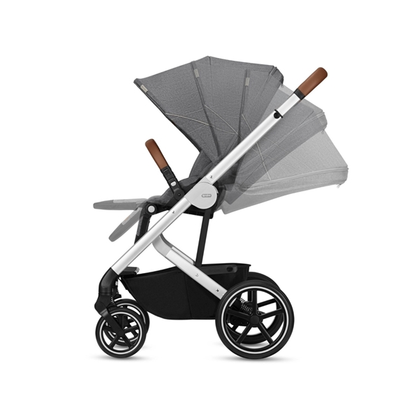 Cybex Βρεφικό Καρότσι Balios S, Denim Collection Manhattan Grey