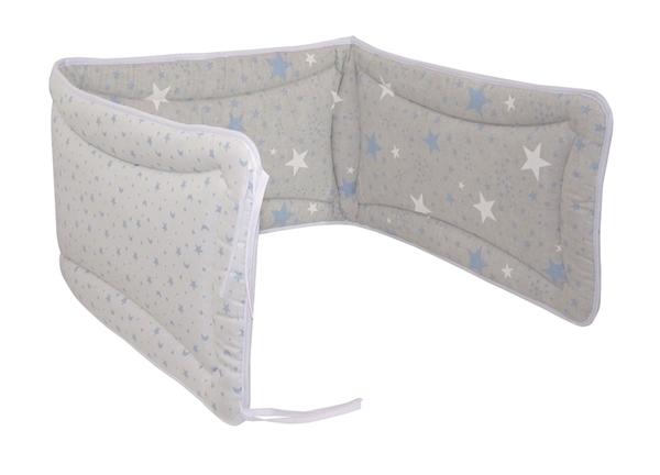Ωμέγα Bebe Πάντα Κούνιας Διπλής Όψης Blue-White Stars