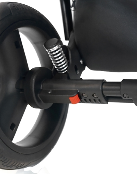 Bexa Καρότσι 2 σε 1 Ultra New Grey Eco Leather, U110