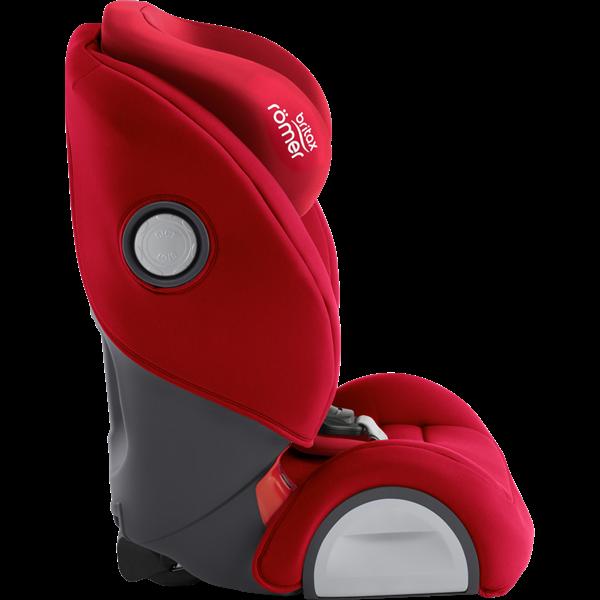 Britax Κάθισμα Αυτοκινήτου Evolva 1-2-3 SL Sict 9-36kg Fire Red