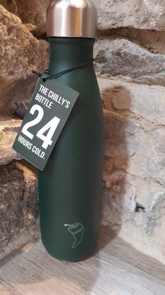 Chillys Θερμός Για Υγρά Green Matte 750ml.