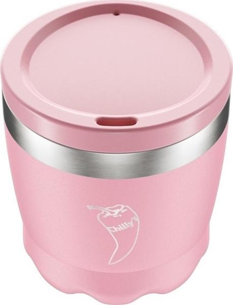 Chillys Ανοξείδωτο Ισοθερμικό Coffee Cup Pastel Pink 340ml