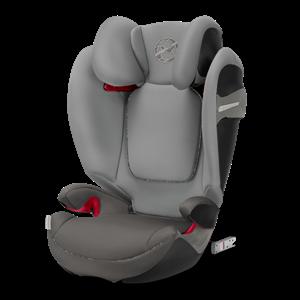 Cybex Παιδικό Κάθισμα Solution S-Fix, 15-36 kg. Manhattan Grey
