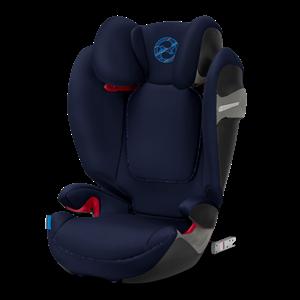 Cybex Παιδικό Κάθισμα Solution S-Fix, 15-36 kg. Indigo Blue