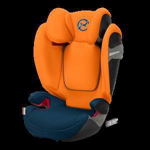 Cybex Παιδικό Κάθισμα Solution S-Fix, 15-36 kg. Tropical Blue