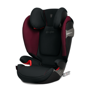 Cybex Παιδικό Κάθισμα Solution S-Fix, 15-36 kg. Scuderia Ferrari in Victory Black
