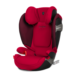 Cybex Παιδικό Κάθισμα Solution S-Fix, 15-36 kg. Scuderia Ferrari in Racing Red