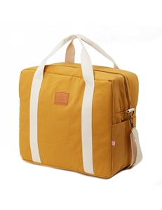 Picture of MyBags Μεγάλη Τσάντα Weekend Happy Family Ochre