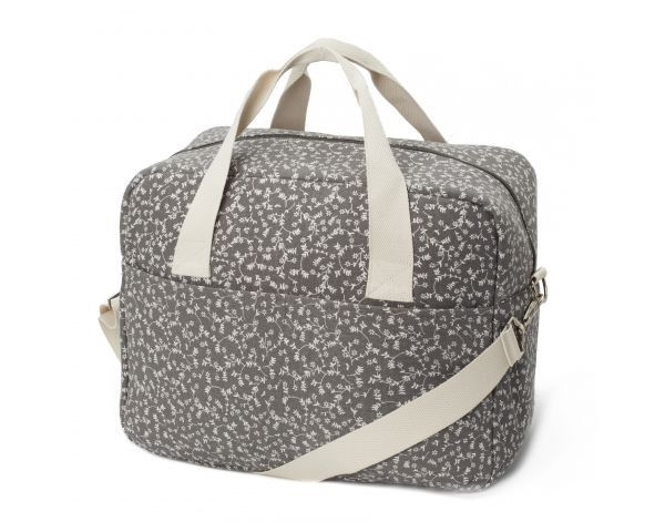 MyBags Τσάντα Αλλαξιέρα Liberty Flowers Dark Grey