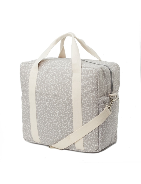 MyBags Μεγάλη Τσάντα Weekend Liberty Flowers Pale Grey