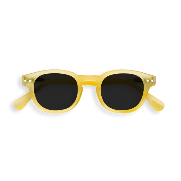 IZIPIZI Γυαλιά Ηλίου Sun Junior, 3 - 10 Ετών #C Yellow Chrome