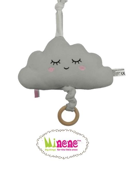 Minene Βελούδινο Μουσικό Σύννεφο Γκρί
